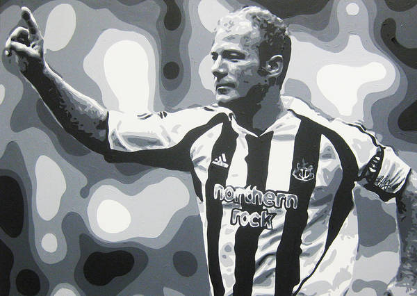 best sneakers 6a813 09e8a Alan Shearer - Newcastle United Fc Poster