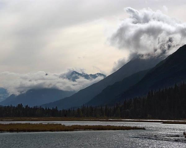 Alaska Poster featuring the photograph Alaska Mountainscape by Scott Lenhart