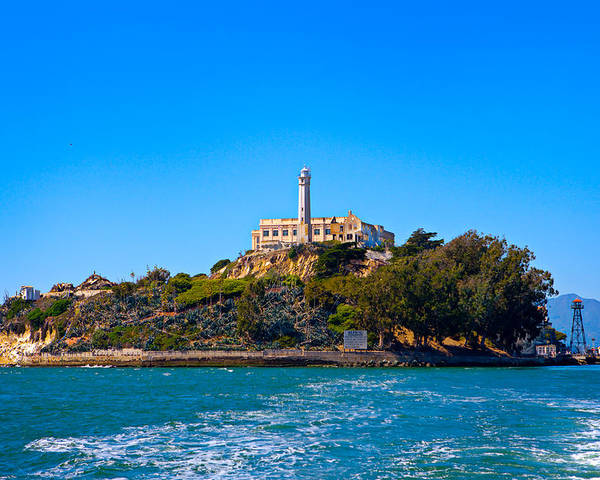 Alcatraz Poster featuring the photograph Alcatraz Island by James O Thompson