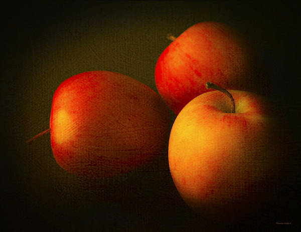 Kitchen Poster featuring the photograph Ambrosia Apples by Theresa Tahara