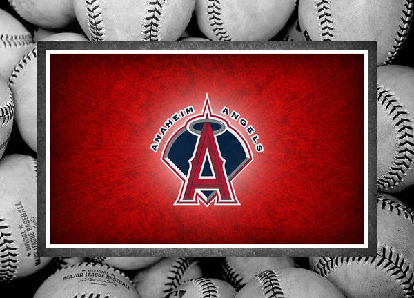Angels Poster featuring the photograph Anaheim Angels by Joe Hamilton