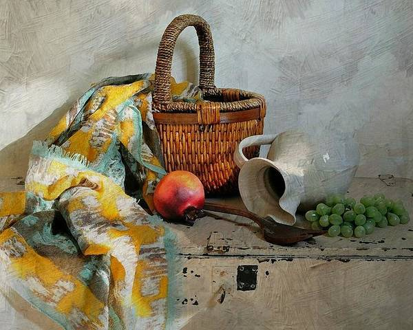 Still Life Poster featuring the photograph Any Day by Diana Angstadt