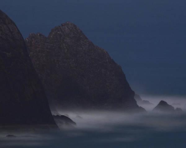 Astronomical Twilight Poster featuring the photograph Astronomical Twilight At San Pedro Point by Scott Lenhart