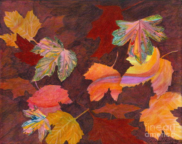 Autumn Poster featuring the painting Autumn Wonder by Denise Hoag