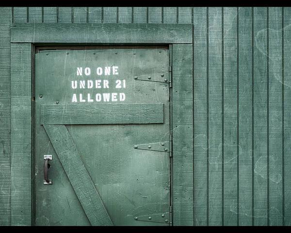 Back Door Okelly's Irish Pub Poster