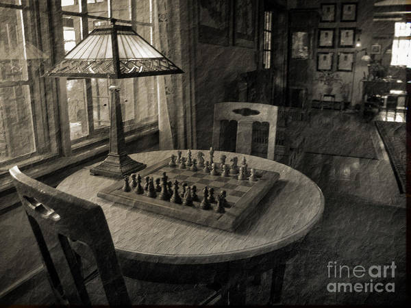 Chess Poster featuring the photograph Back In Time by Arlene Carmel
