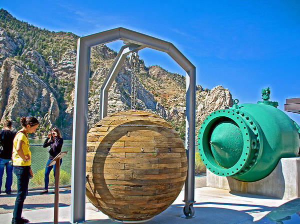 Ball Plug And Balanced Plunger Hydraulic Valve By Buffalo Bill  Reservoir-wyoming Poster