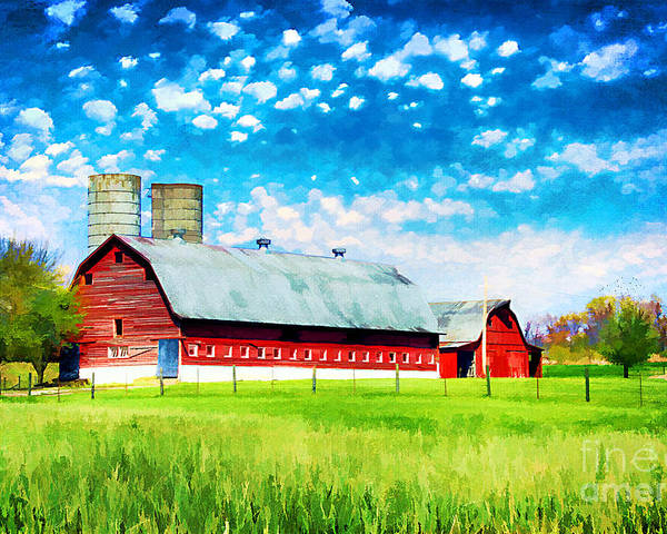 Agricultural Poster featuring the photograph Bardstown Kentucky by Darren Fisher