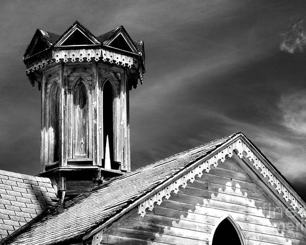 Infrared Poster featuring the photograph Barn Detail by Paul W Faust - Impressions of Light