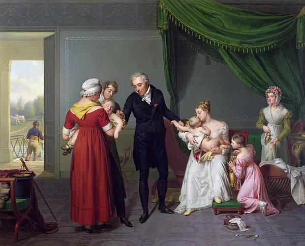 Baron Poster featuring the painting Baron Jean Louis Alibert by Constant Joseph Desbordes