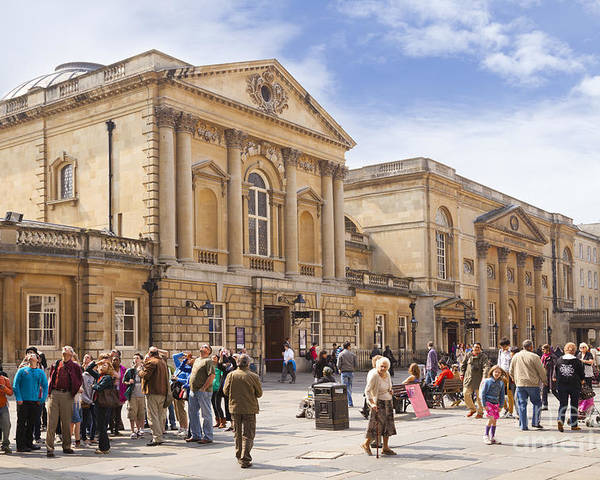 Architecture Poster featuring the photograph Bath Somerset by Colin and Linda McKie