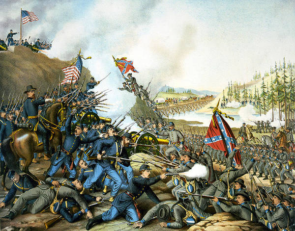 Franklin Tennessee Poster featuring the digital art Battle Of Franklin by Unknown