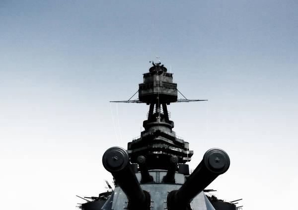 Battleship Poster featuring the photograph Batttleship Texas by Bekka Delafield