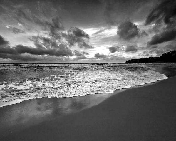 Beach Poster featuring the photograph Beach 9 by Ingrid Smith-Johnsen