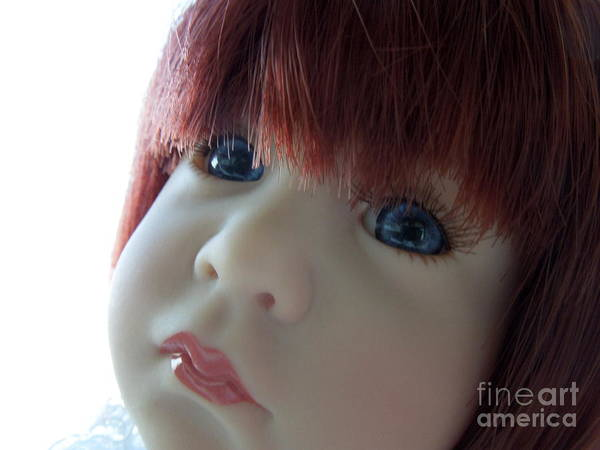 Doll Poster featuring the photograph Beautiful Doll by Renee Trenholm