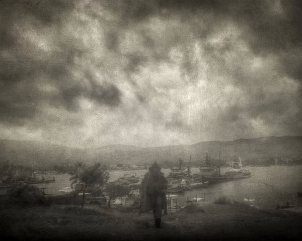 Fog Poster featuring the photograph Before Storm by Taylan Apukovska