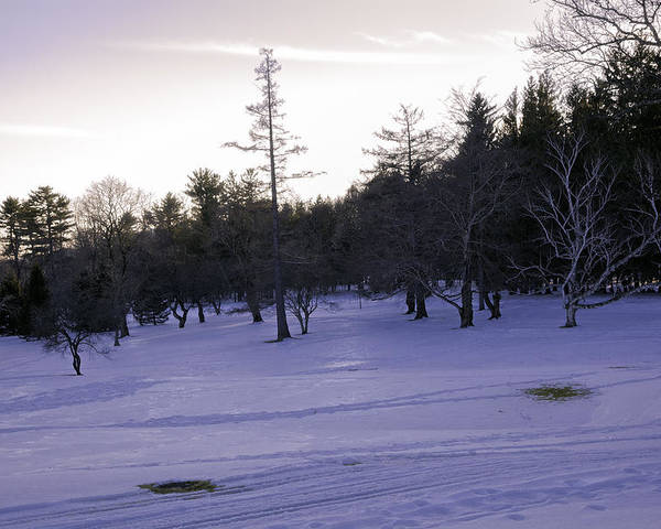 Berkshires Poster featuring the photograph Berkshires Winter 5 - Massachusetts by Madeline Ellis