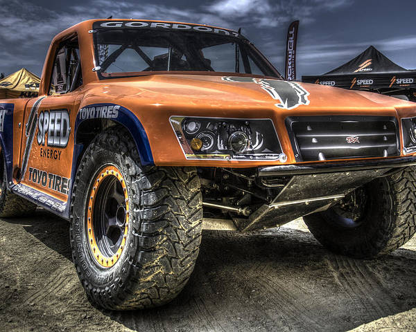 Off Road Poster featuring the photograph Best On The Track II by Chris Sarenana
