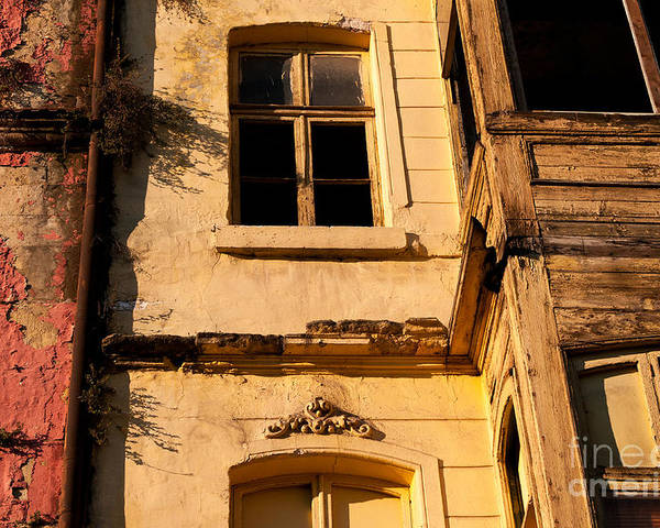 Istanbul Poster featuring the photograph Beyoglu Old House 01 by Rick Piper Photography