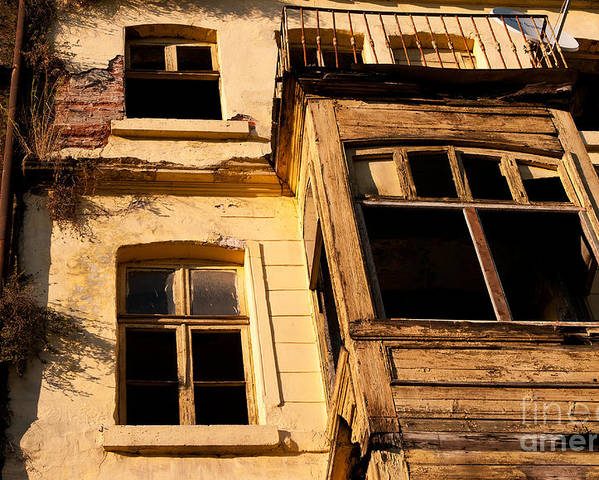 Istanbul Poster featuring the photograph Beyoglu Old House 02 by Rick Piper Photography