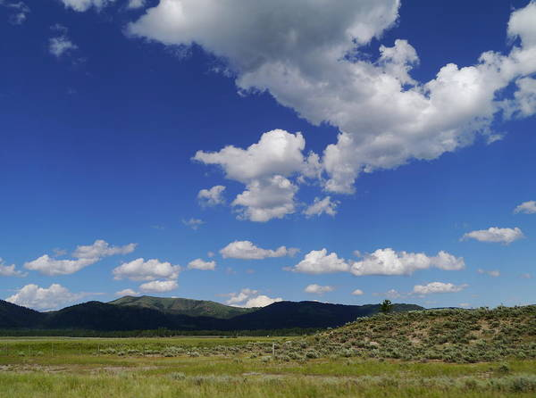 Idaho Poster featuring the photograph Big Blue Sky by Christiane Schulze Art And Photography