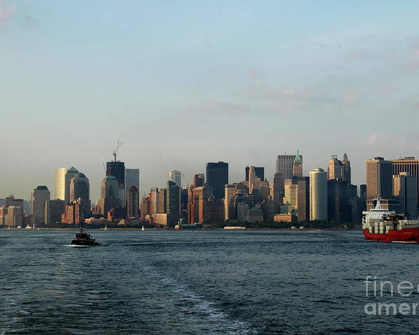Tug Poster featuring the photograph Bon Voyage by Christiane Schulze Art And Photography