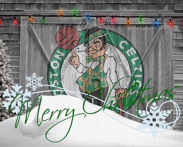 Celtics Poster featuring the photograph Boston Celtics by Joe Hamilton