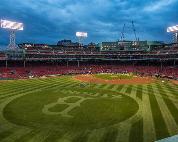 Fenway Park Poster featuring the photograph Boston Strong by Paul Treseler