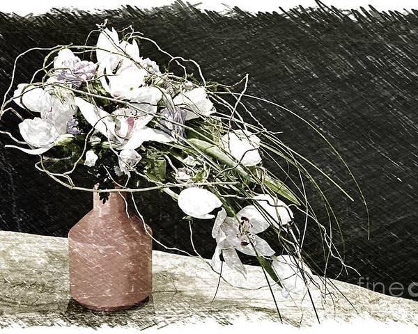 Bouquet Poster featuring the photograph Bouquet by Vladimir Sidoropolev