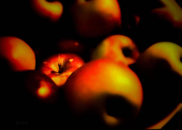 Apple Poster featuring the photograph Bowl Of Apples by Bob Orsillo