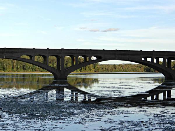 Bridge Poster featuring the photograph Bridge Reflection by Brenda Conrad