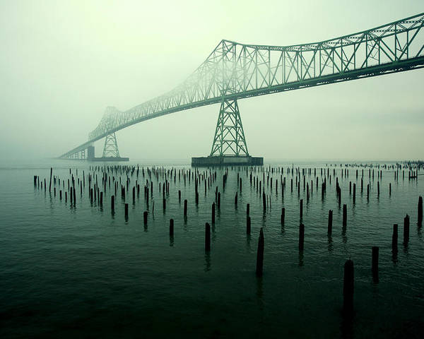 Bridge Poster featuring the photograph Bridge To Nowhere by Todd Klassy