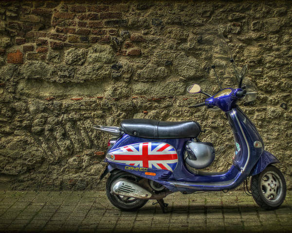 London Poster featuring the photograph British At Heart by Evelina Kremsdorf