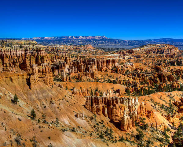 Bryce Canyon Poster featuring the photograph Bryce's Glory by Chad Dutson