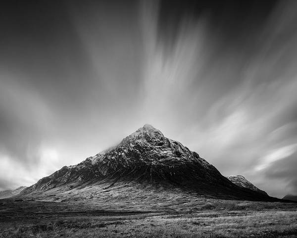 Buachaille Etive Mor Poster featuring the photograph Buachaille Etive Mor 1 by Dave Bowman