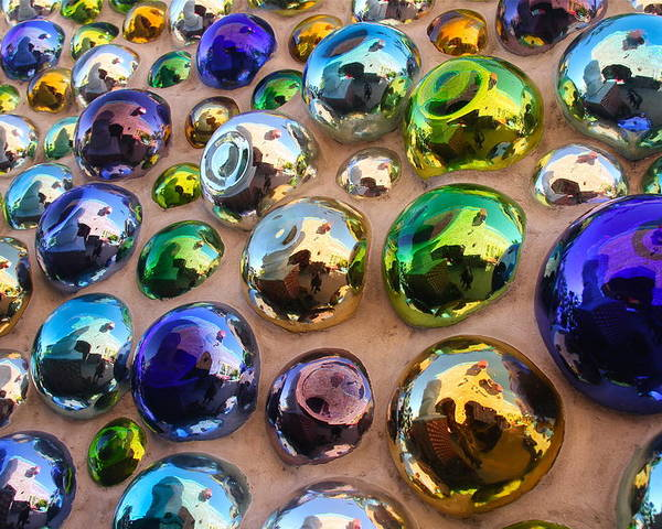 Abstract Poster featuring the photograph Bubble Up by Denise Mazzocco