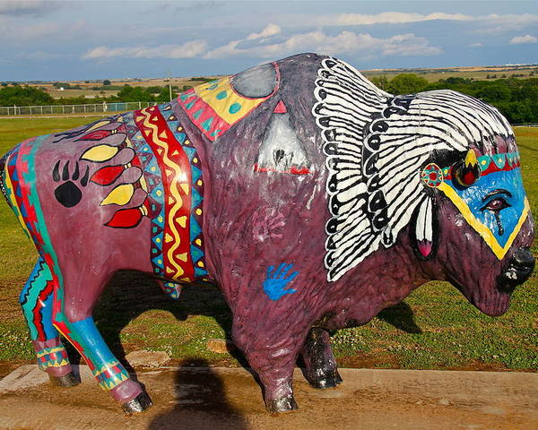 Buffalo Poster featuring the photograph Buffalo Artwork by Denise Mazzocco