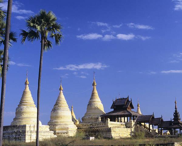 Clear Poster featuring the photograph Burma Myanmar, White Minochanthar by Richard Maschmeyer