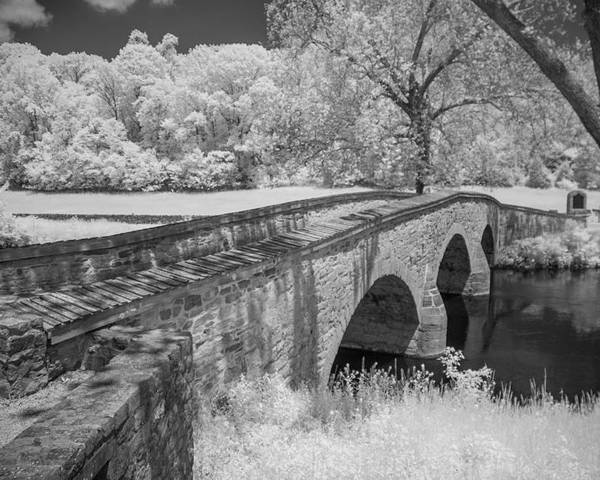 Antietam Battlefield Poster featuring the photograph Burnside Bridge 0239 by Guy Whiteley