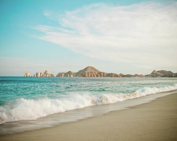 Water's Edge Poster featuring the photograph Cabos San Lucas by Christopher Kimmel
