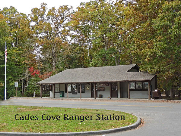 Photographic Print Poster featuring the photograph Cades Cove Ranger Station by Marian Bell