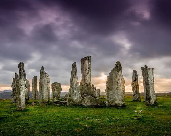 Callanish Poster featuring the photograph Callanish Stones by Peter OReilly