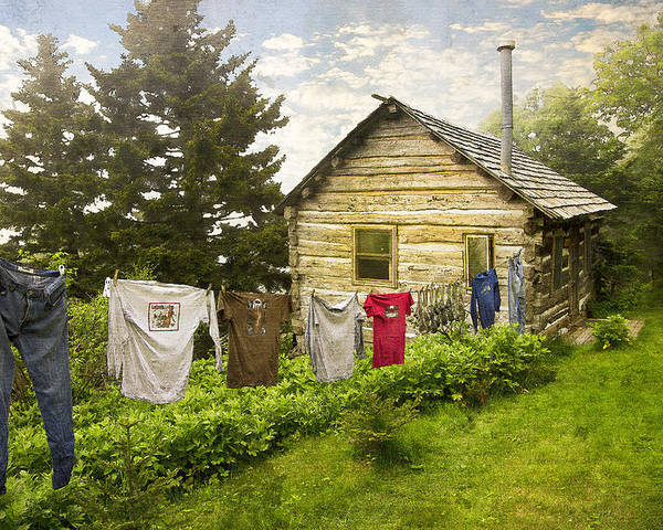 Appalachia Poster featuring the photograph Camp Leconte by Debra and Dave Vanderlaan
