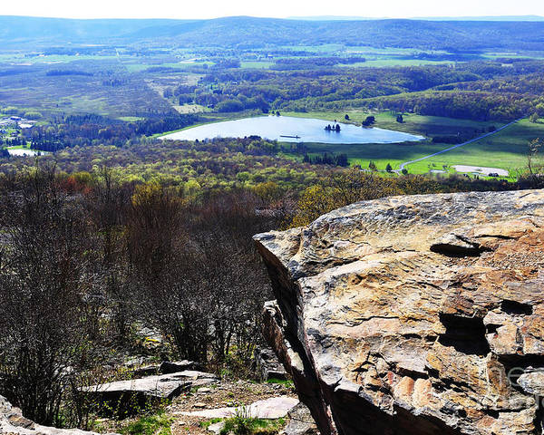 Canaan Valley Poster featuring the photograph Canaan Valley From Valley View Trail by Thomas R Fletcher