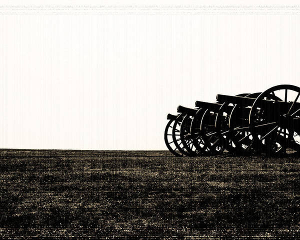 Antietam Poster featuring the photograph Cannons by Michael Byerley