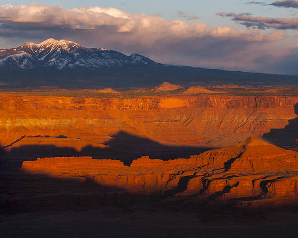 Canyonlands Poster featuring the photograph Canyonlands Light by Joseph Rossbach