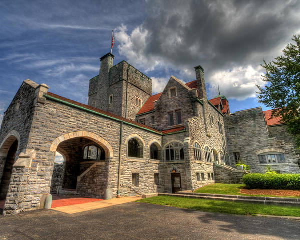 Castle Poster featuring the photograph Castle Administration Building by David Dufresne
