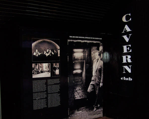 Beatles Poster featuring the photograph Cavern Club Original Doorway Liverpool Uk by Steve Kearns
