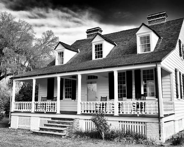 Charles Pickney House Poster featuring the photograph Charles Pickney House by John Rizzuto