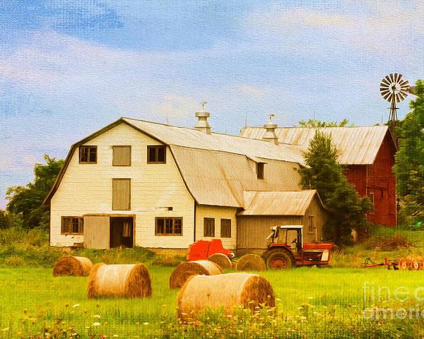Vermont Poster featuring the photograph Charlotte Vermont Gem by Deborah Benoit